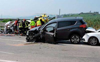 Descienden en un 40% las indemnizaciones a las víctimas de accidentes en los últimos cuatro años.