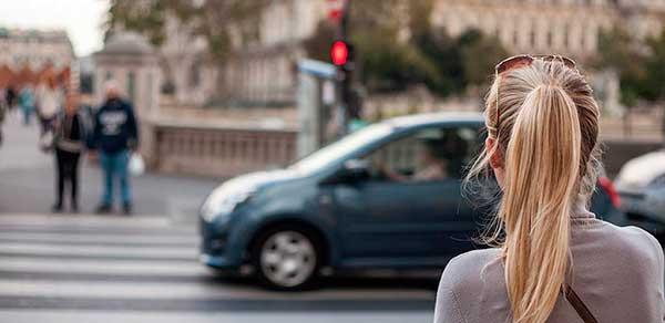 El número de peatones atropellados en los últimos años ha experimentado un incremento del 28%