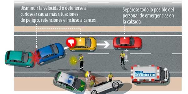 En caso de presenciar un accidente de tráfico ¿debo detenerme siempre?